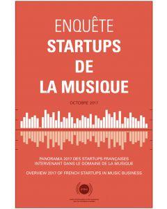 Enquête 2018 - Startups de la musique [PDF]
