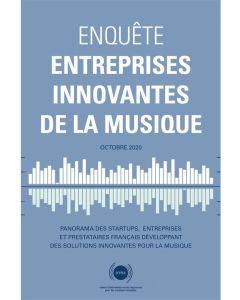 Enquête 2020 Entreprises innovantes de la musique [PDF]