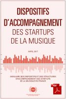 Dispositif d'Accompagnement des Startups en France [PDF]