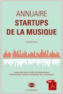 Annuaire 2018 - Startups de la musique [PDF]